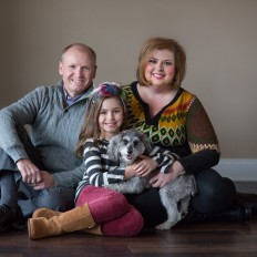Vanek Family Session – Studio – Madison, Alabama